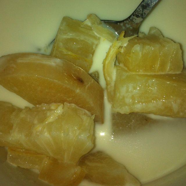 Manioc au lait de coco