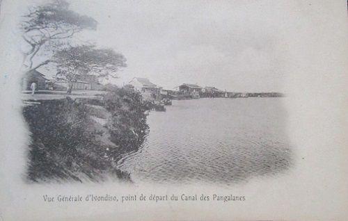 Ivondro Point  de départ des Pangalanes