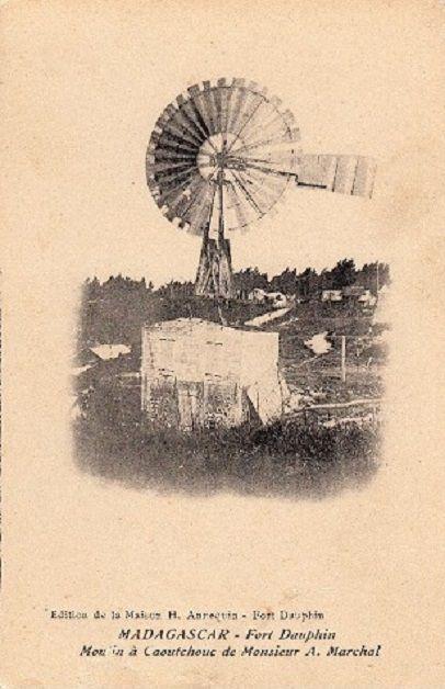 Rade et moulin à triturer le caoutchouc