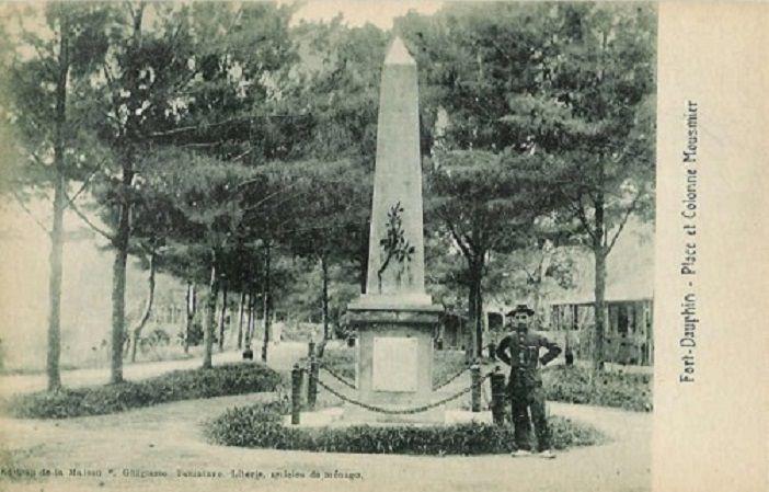 Place et colonne Mousmier
