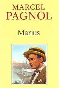 Marius de Marcel Pagnol (le livre et l'affiche du film)