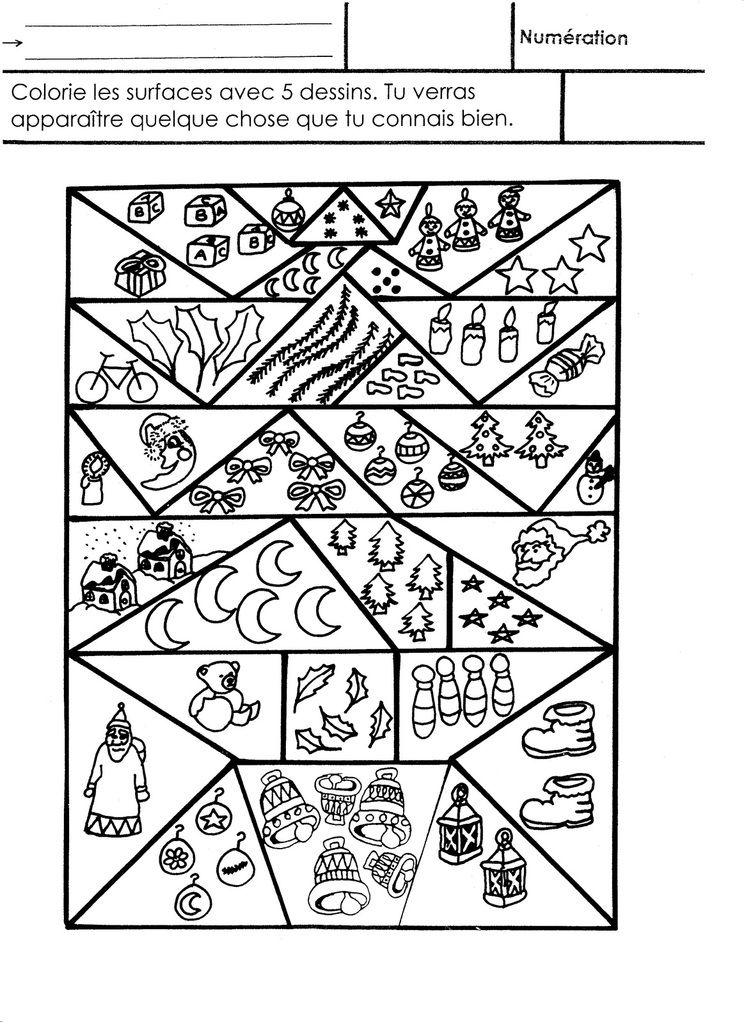 No l coloriage magique cole maternelle gellow - Coloriage magique pdf ...
