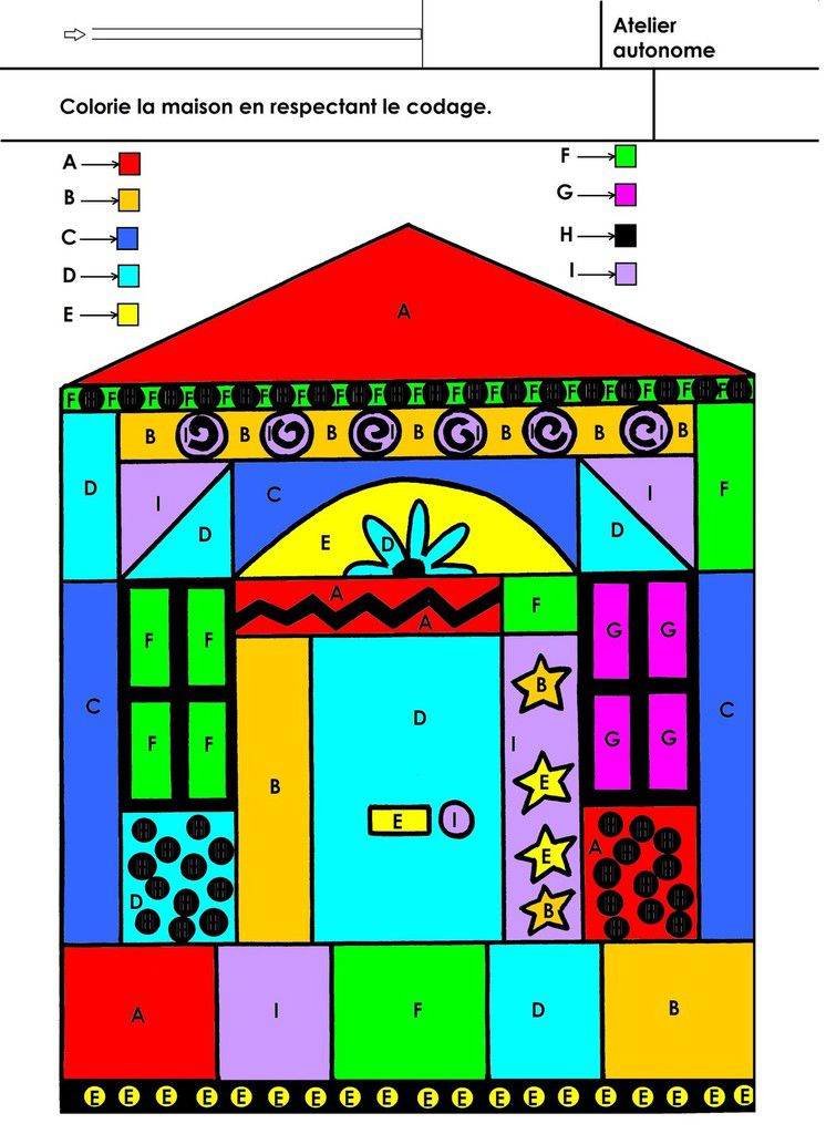 Coloriage Alphabet En Couleur.Alphabet Coloriage En Respectant Un Codage Ecole
