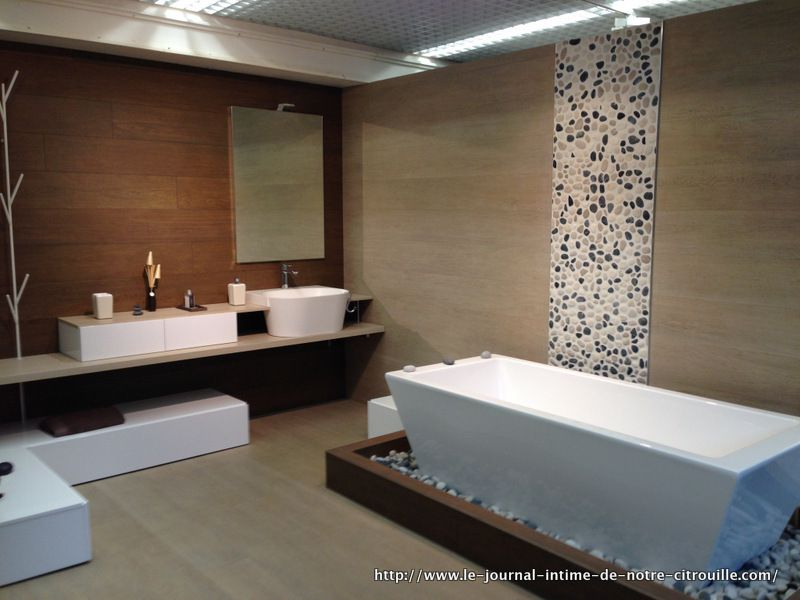Op ration salle de bain inspiration for Showroom salle de bain carrelage