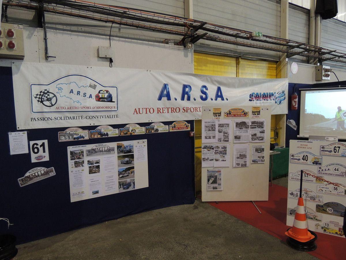 Une partie de l'espace ARSA