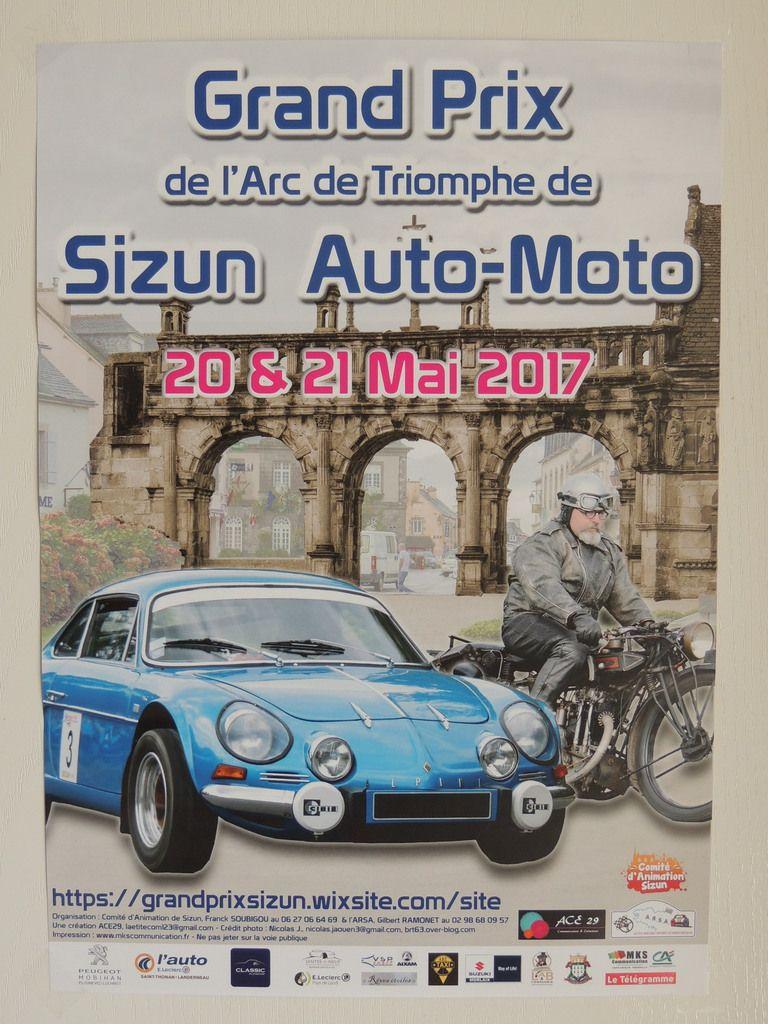 Affiche officielle du Grand Prix