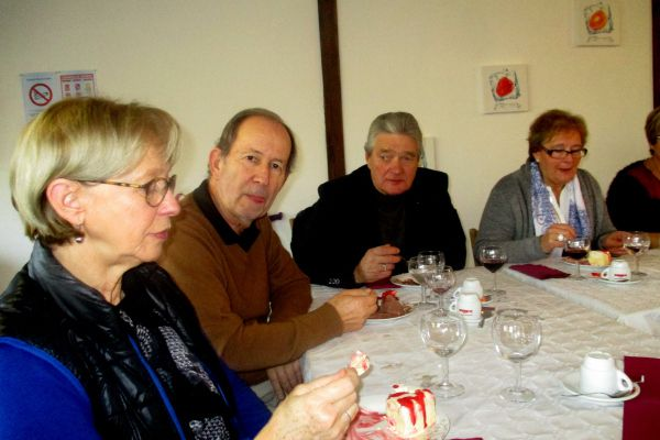 Repas des Aînés Ruraux le 9 décembre 2014 à LA HERSE