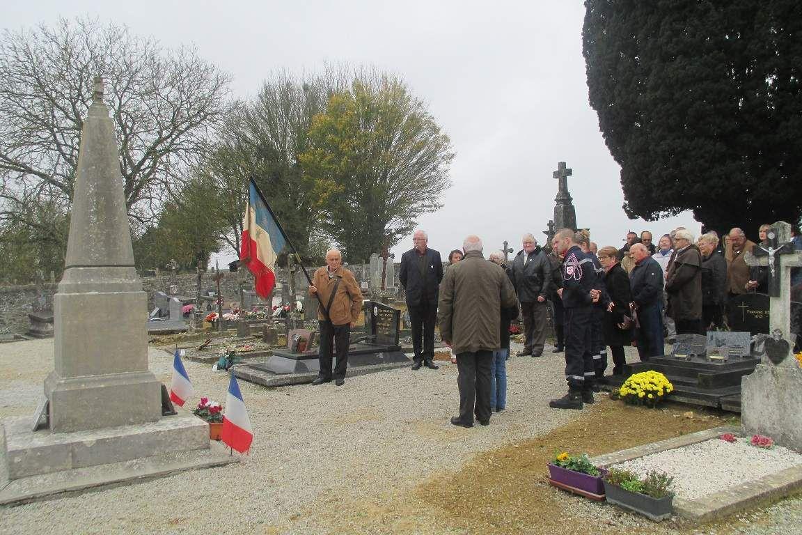 Commémoration du 97ème anniversaire de la signature de l'armistice du 11 novembre 1918 à Dame-Marie