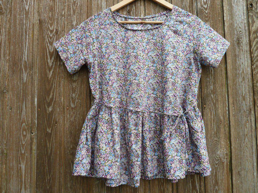 La blouse Marthe de mai