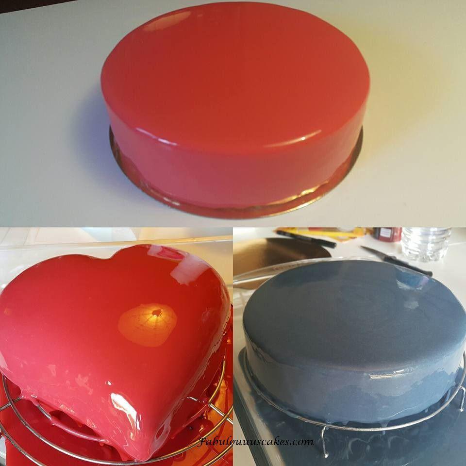 Gla age miroir fabulouuus cakes for Glacage miroir neutre
