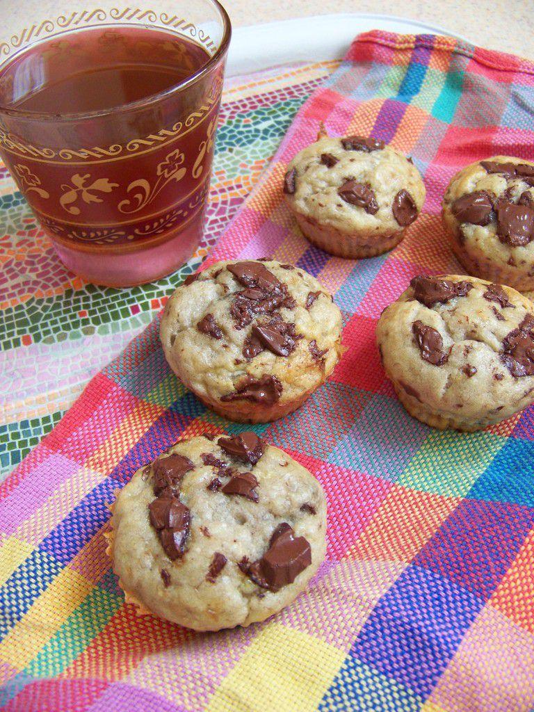 Muffins bananachoc