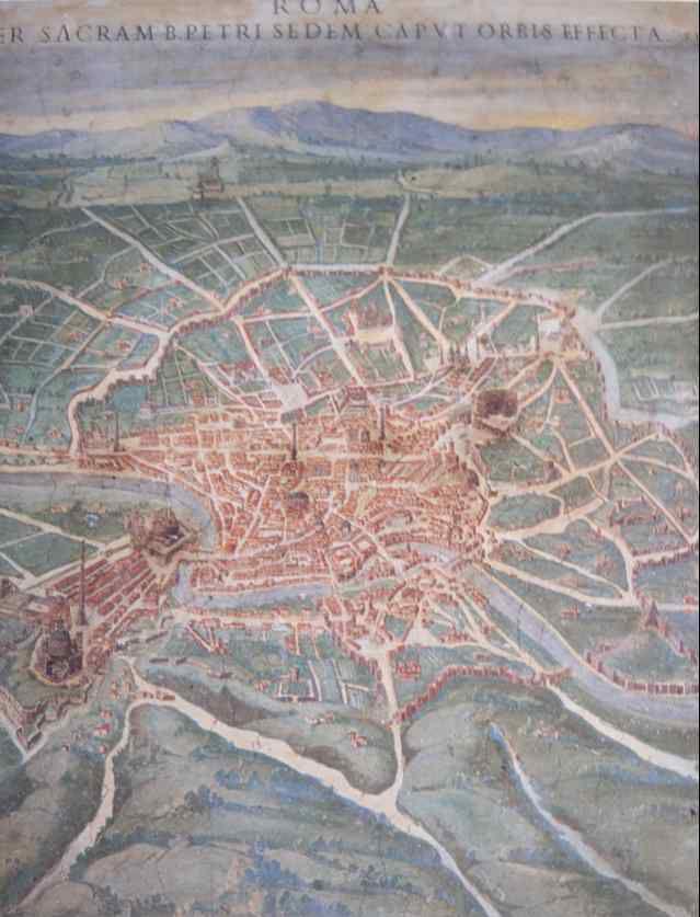 Roma, détail de Latium et Sabina
