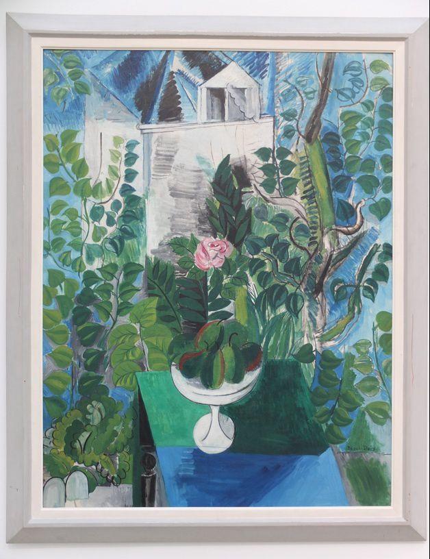 Raoul dufy 1877 1954 quatre uvres du mus e d 39 art for Maison et jardin