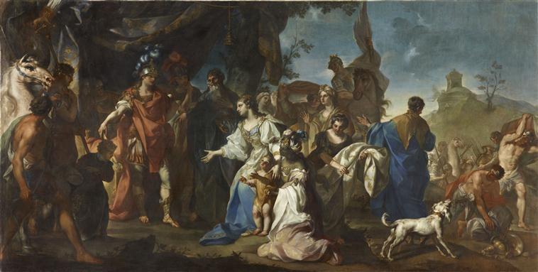 Alexandre le Grand et la famille de Darius Beaumont Claudio Francesco