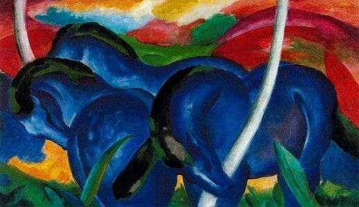 Les grands chevaux bleus