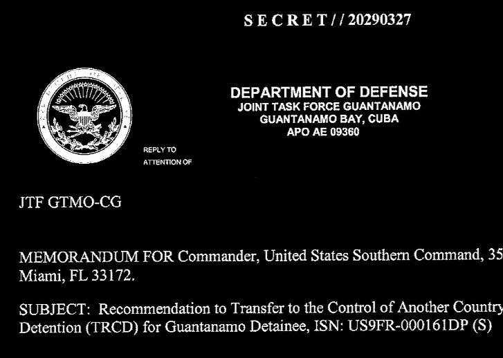 Wikileaks - The Guantanamo Files - Detainee 161