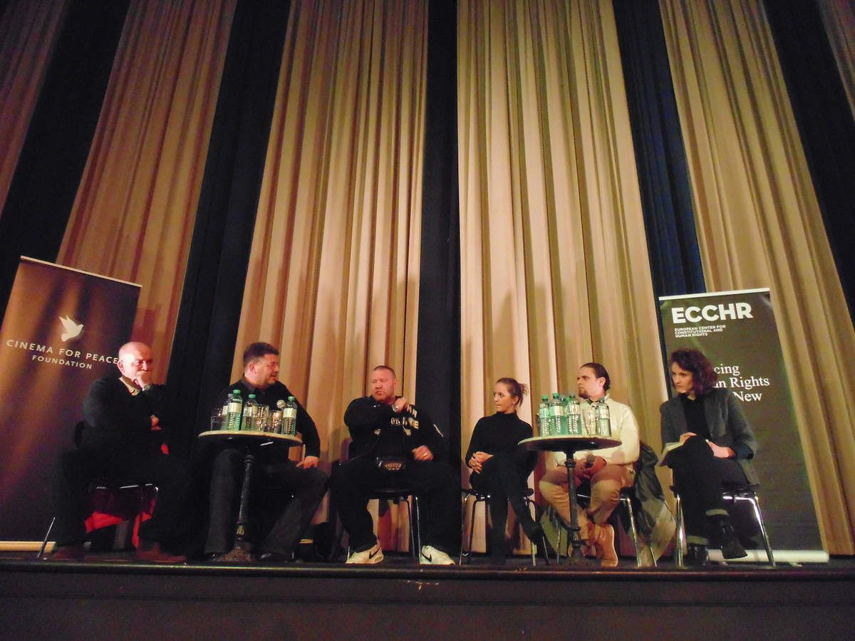 ECCHR-Event à Berlin avec le &quot&#x3B;Cinema For Peace&quot&#x3B; et Murat Kurnaz