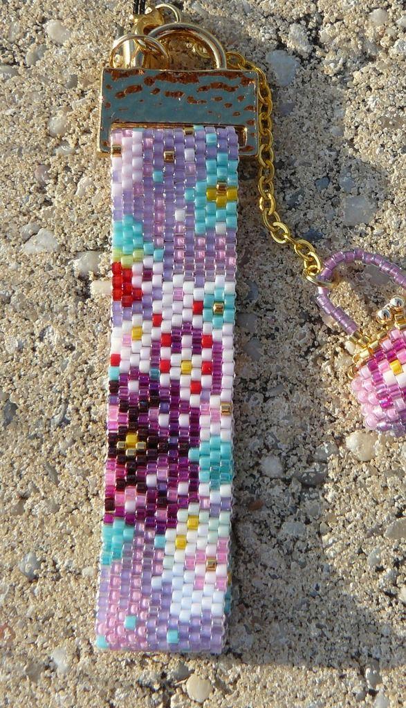 Strap et petit sac violet
