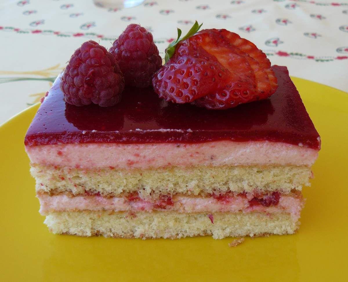 Plaisir fraises amande