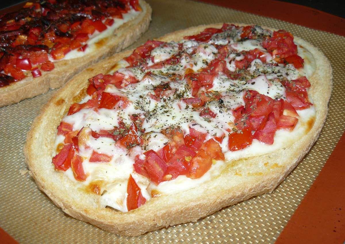 Bruschetta tomate mozzarella