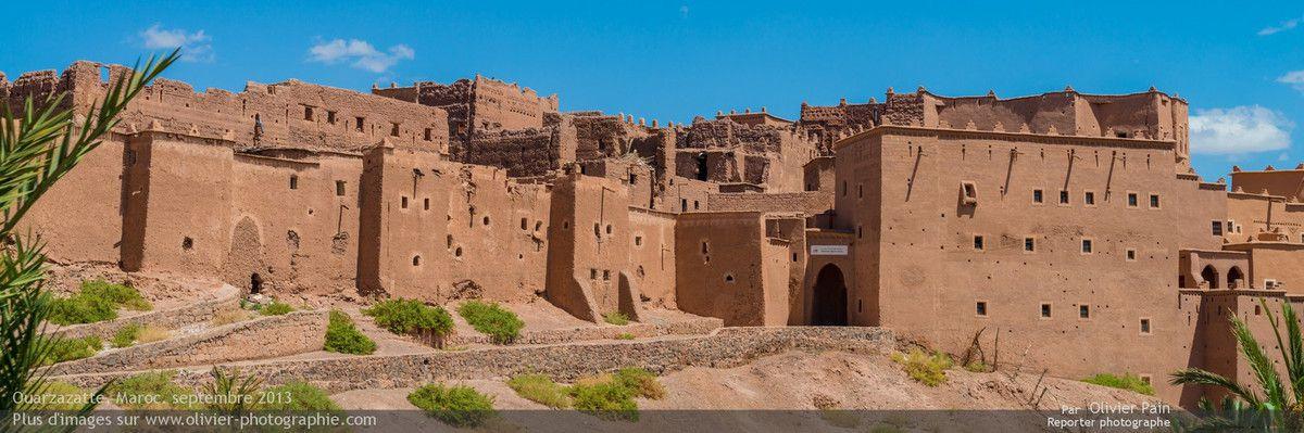 Photo : Vue extérieure panoramique de la ville de Ouarzazate.