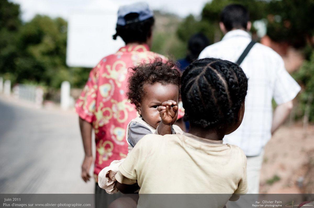 Reportage : Ambatolampikely, Madagascar