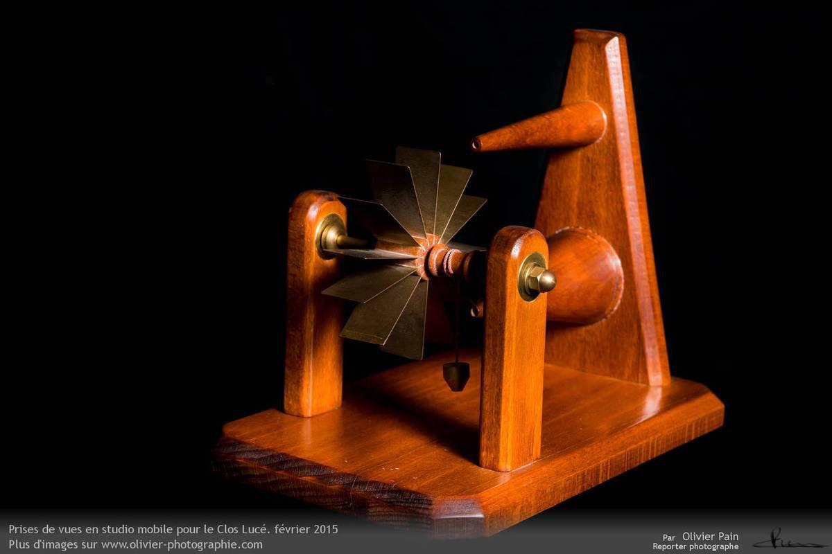 Les inventions sous forme de maquettes de Léonard de Vinci au clos Lucé à Amboise.