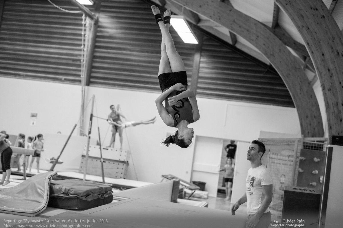 Reportage sur la gymnastique artistique en france. Réalisé à Saint pierre des corps et joué les tours dans la banlieu proche de Tours.