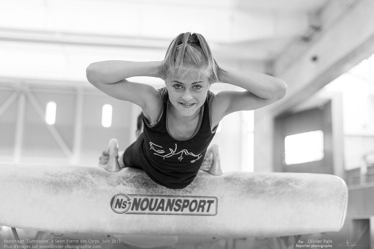 Reportage sur la gymnastique en france, GAF. Suivi d'une équipe de jeunes gymnastes de Saint Pierre des Corps, ville située à quelques km de Tours en région centre.
