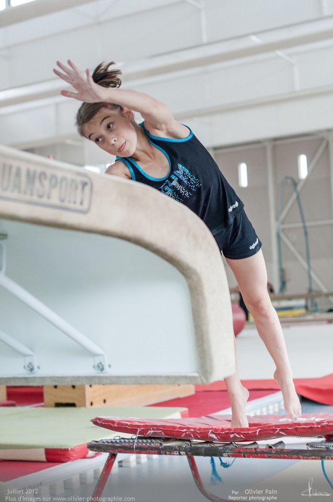 Reportage sur la gymnastique en France réalisé à Saint pierre des corps à quelques kilomètres de tours.