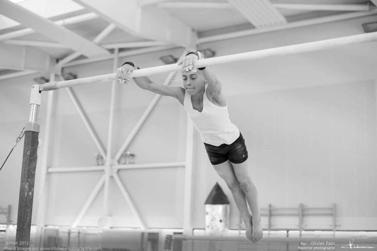 Reportage sur la gymnastique en france réalisé au gymnase du Val Fleuri à saint pierre des corps à quelques km de tours.