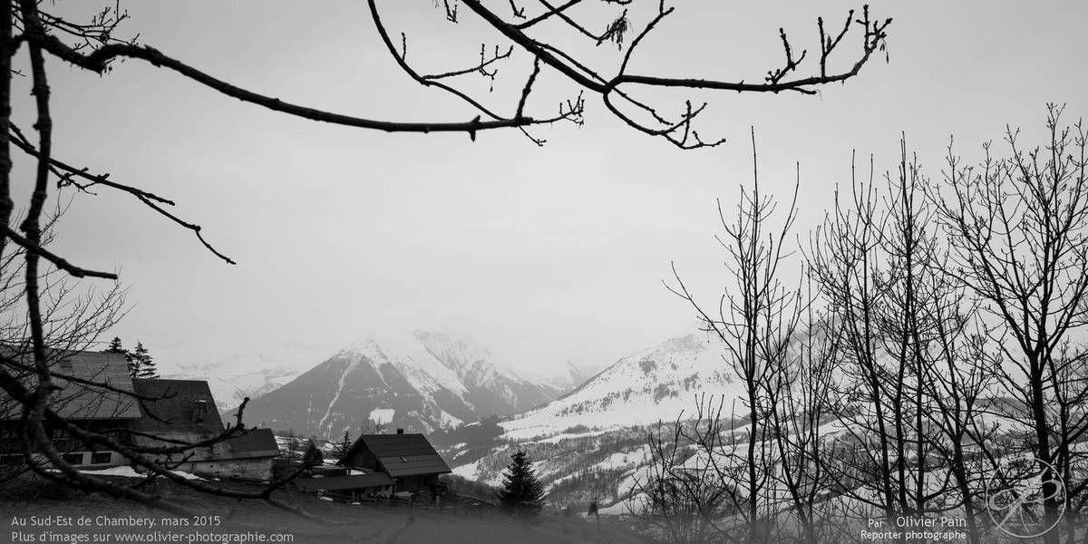 La photo du jour, 28/03/2015 : Au Nord Est de Chambery