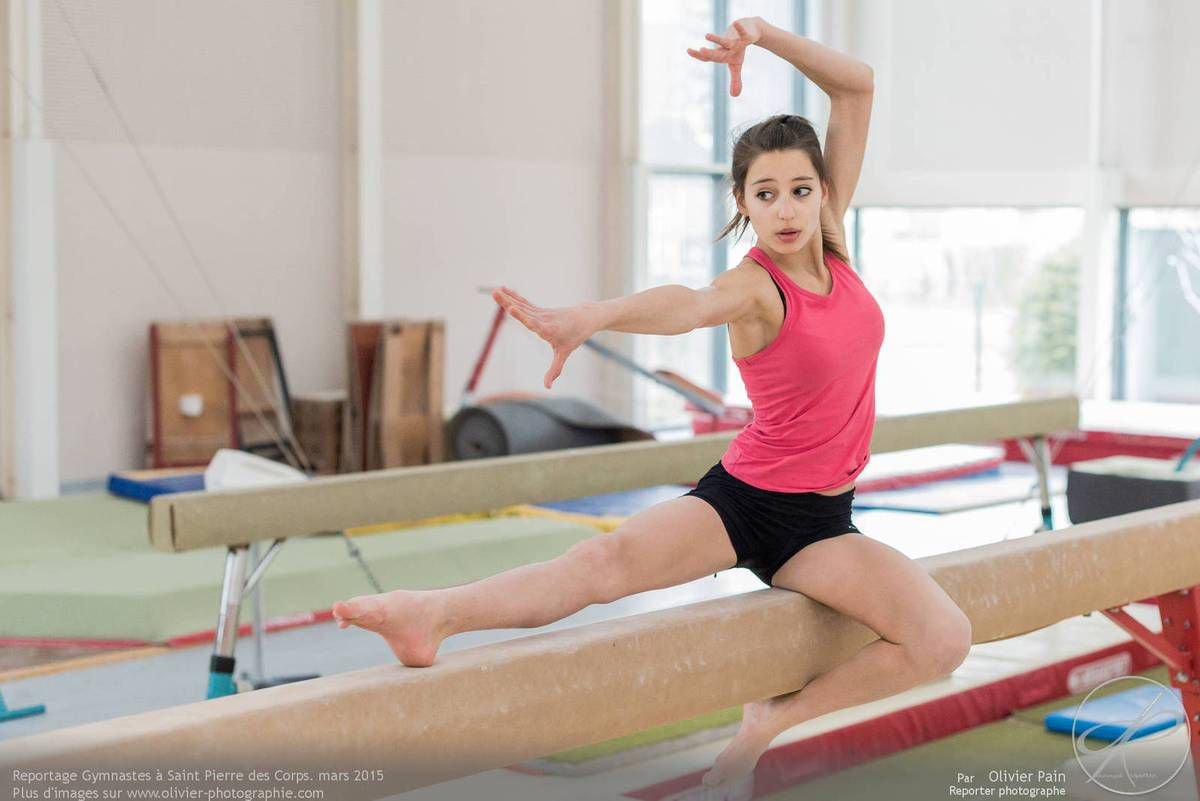 Reportage sur la gymnastique &quot&#x3B;Gymnastes&quot&#x3B; Année 2015, Le 26 Mars