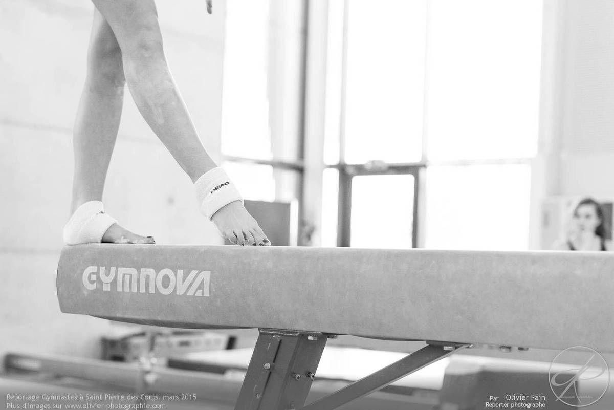 Reportage sur la gymnastique &quot&#x3B;Gymnastes&quot&#x3B; Année 2015, Le 25 Mars