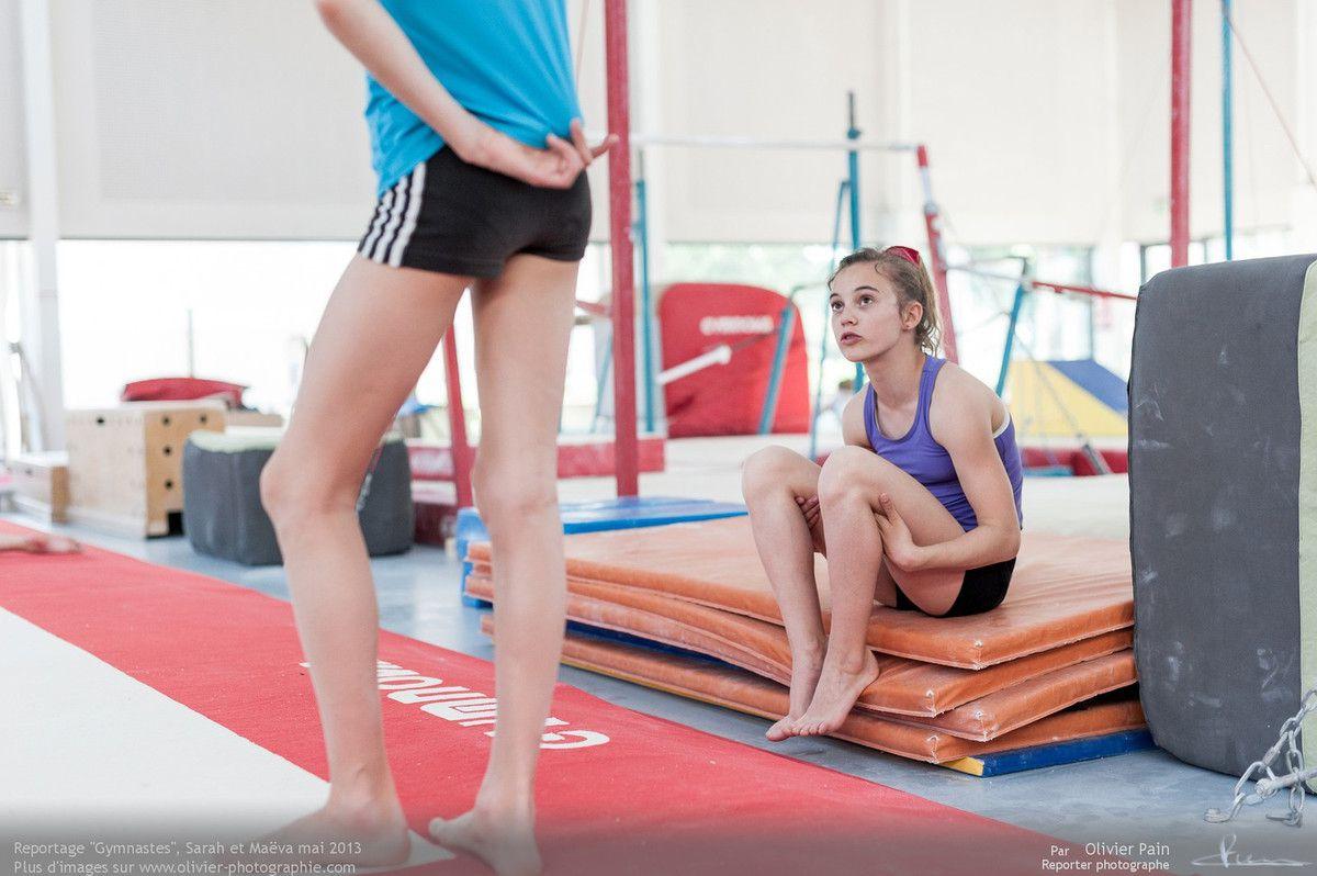 Reportage sur la gymnastique artistique féminine en France. Réalisé à Saint pierre des corps près de Tours en région centre.