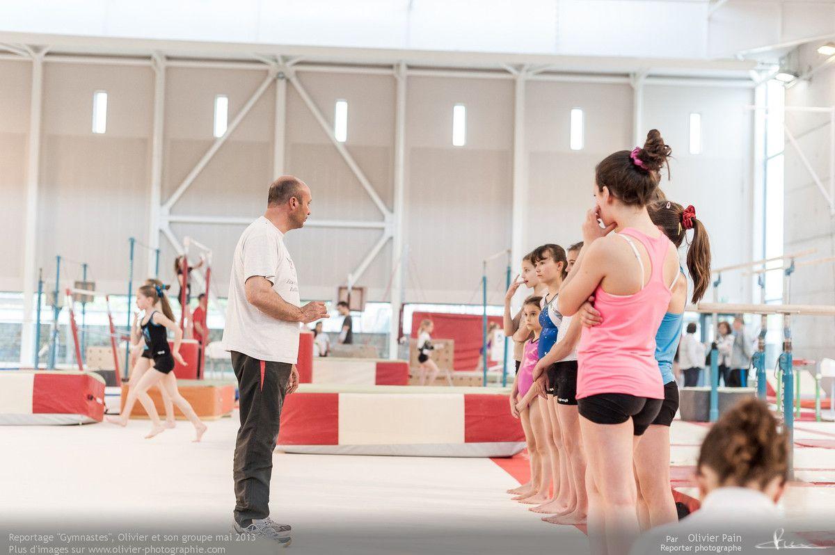 Reportage sur la gymnastique en France réalisé à Saint pierre des corps près de tours.