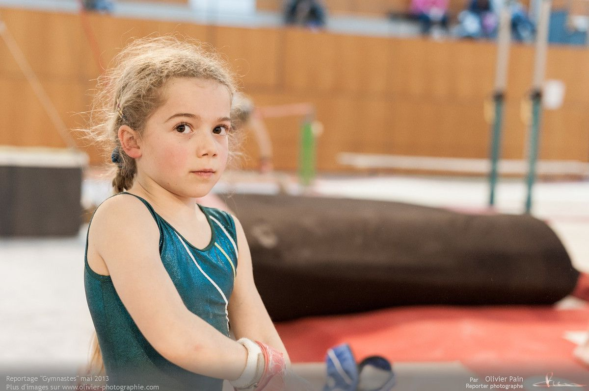 Reportage sur la gymnastique artistique en France réalisé à Saint Pierre des corps à quelques km de Tours.