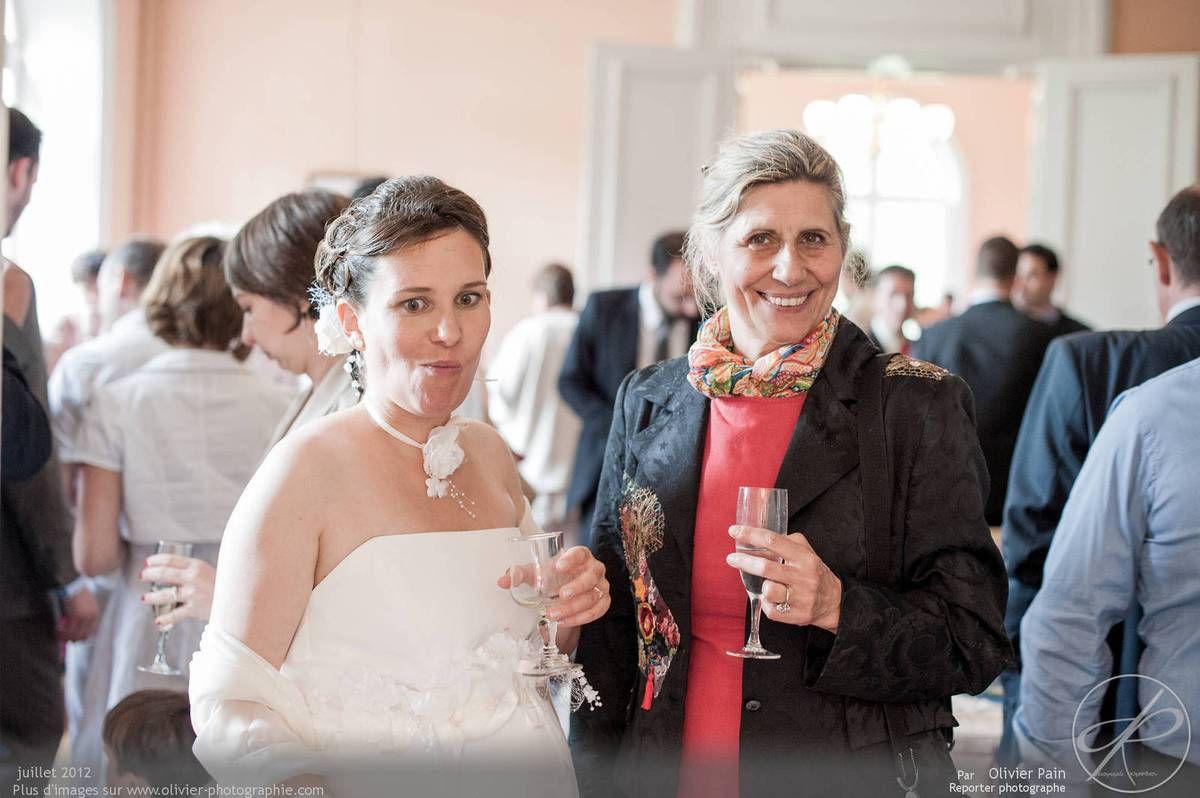 Reportage lors d'un mariage dans la région de Tours.