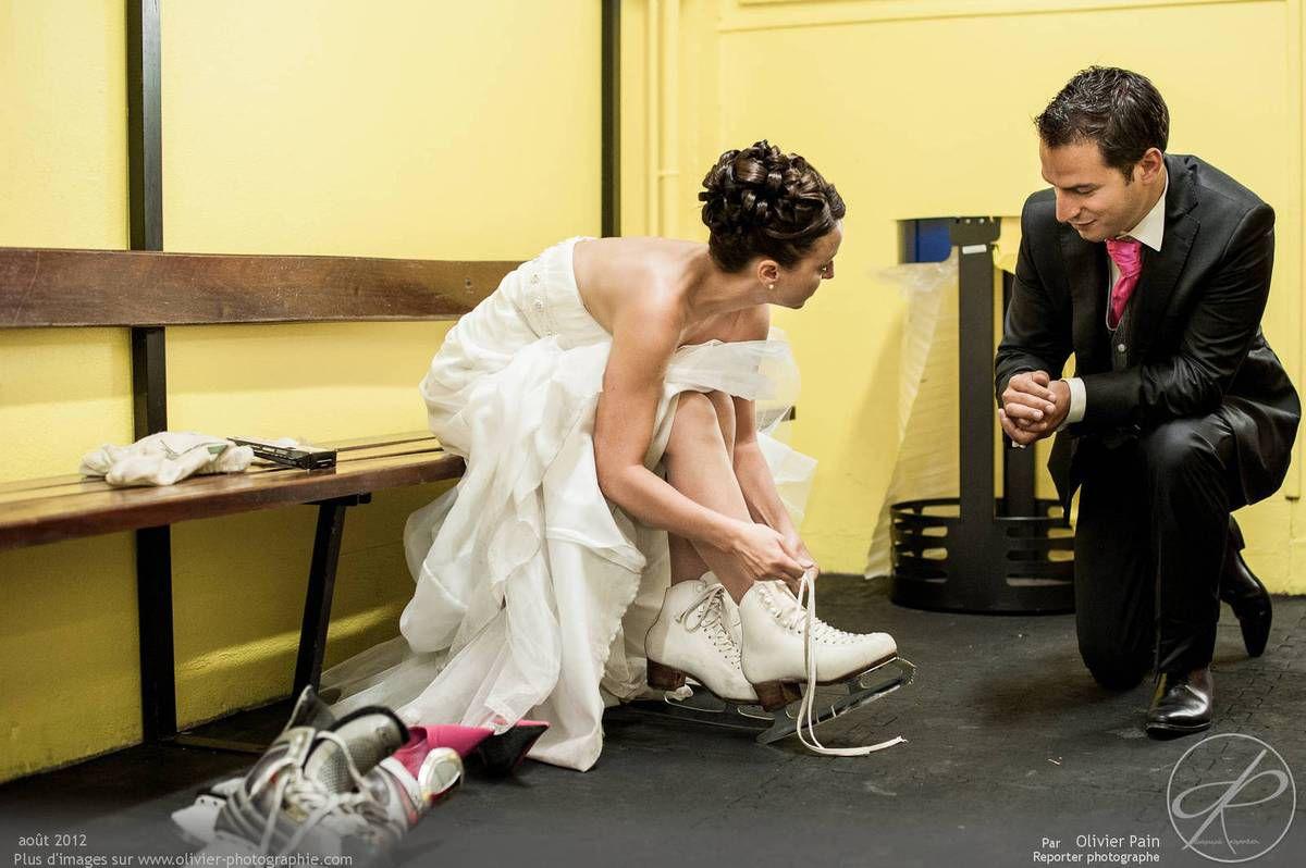 Reportage lors d'un mariage à Tours en région centre réalisé par Olivier pain reporter photographe à tours.
