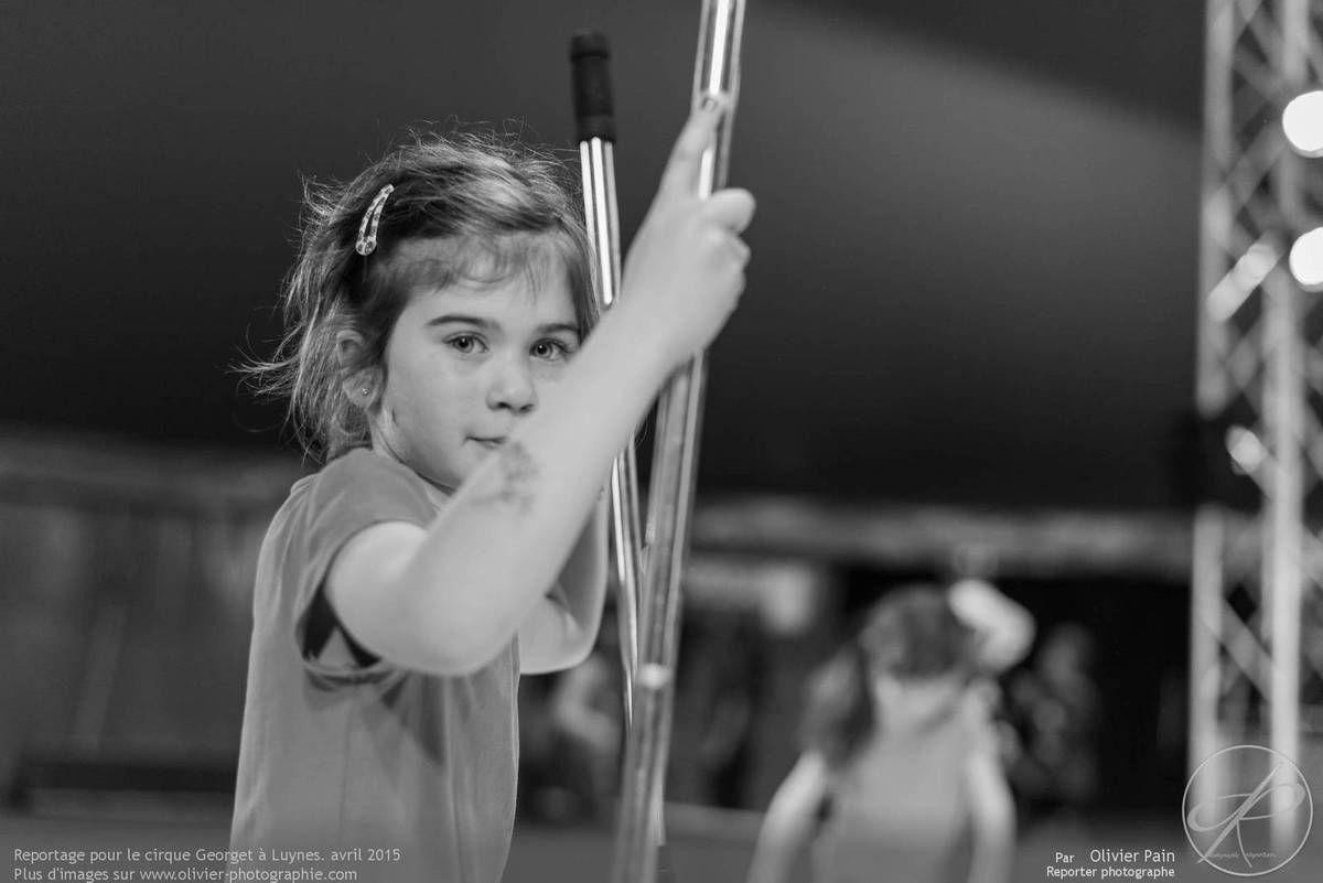 Reportage en immersion pour le cirque Georget à Luynes. Pôle Européen des arts du cirque.
