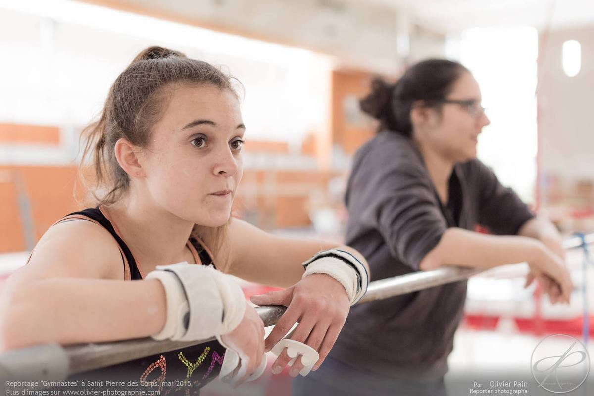 Reportage sur la gymnastique artistique féminine GAF