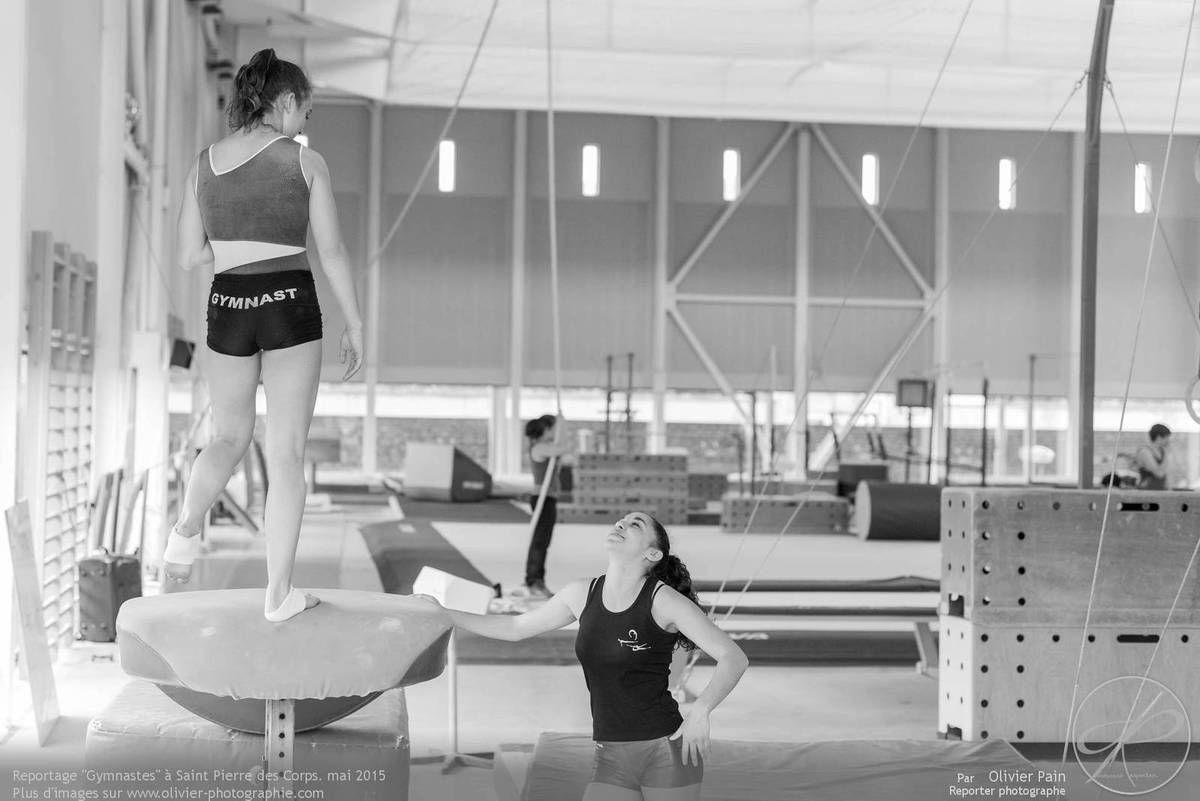 Reportage sur la gymnastique artistique en France GAF