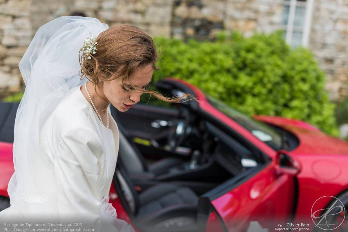 Le jour du mariage