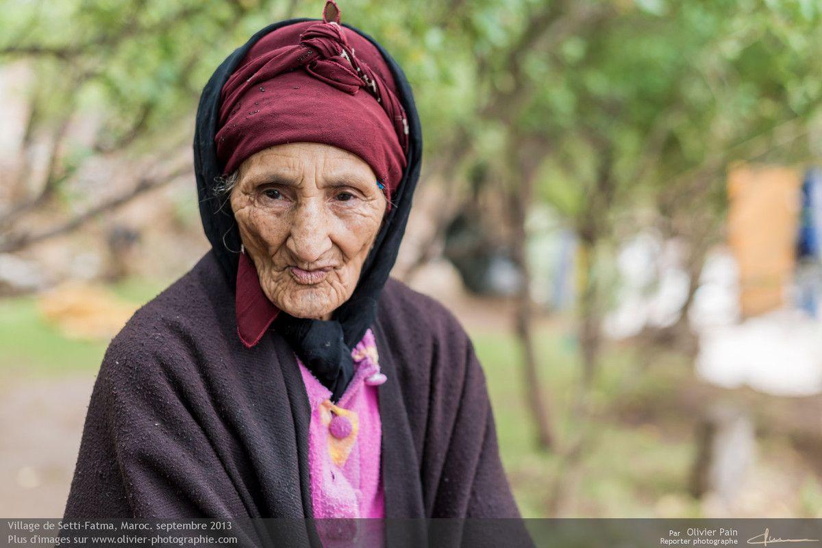 Portraits au Maroc.