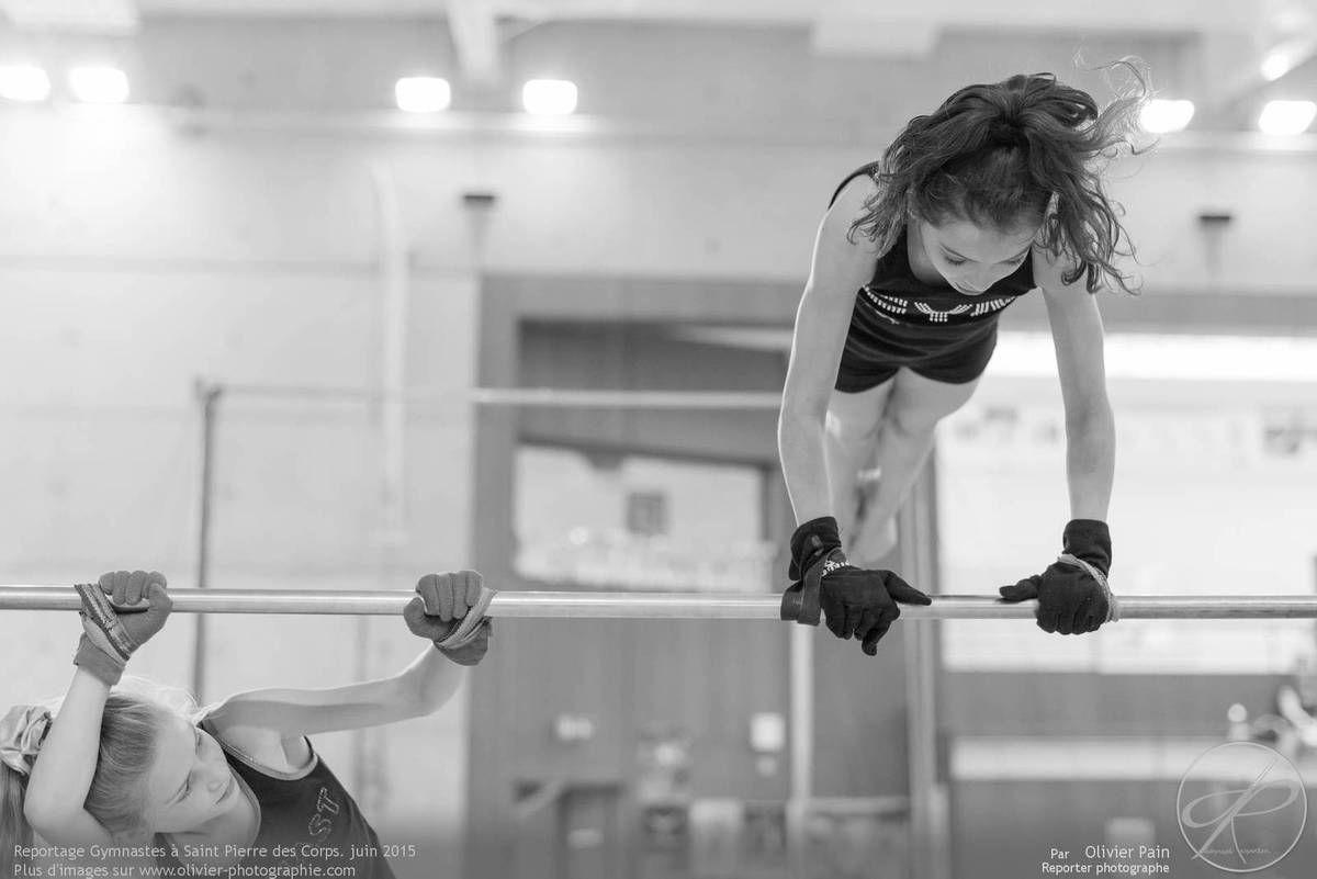 Reportage sur la gymnastique artistique féminine réalisé à Saint Pierre des corps près de Tours.