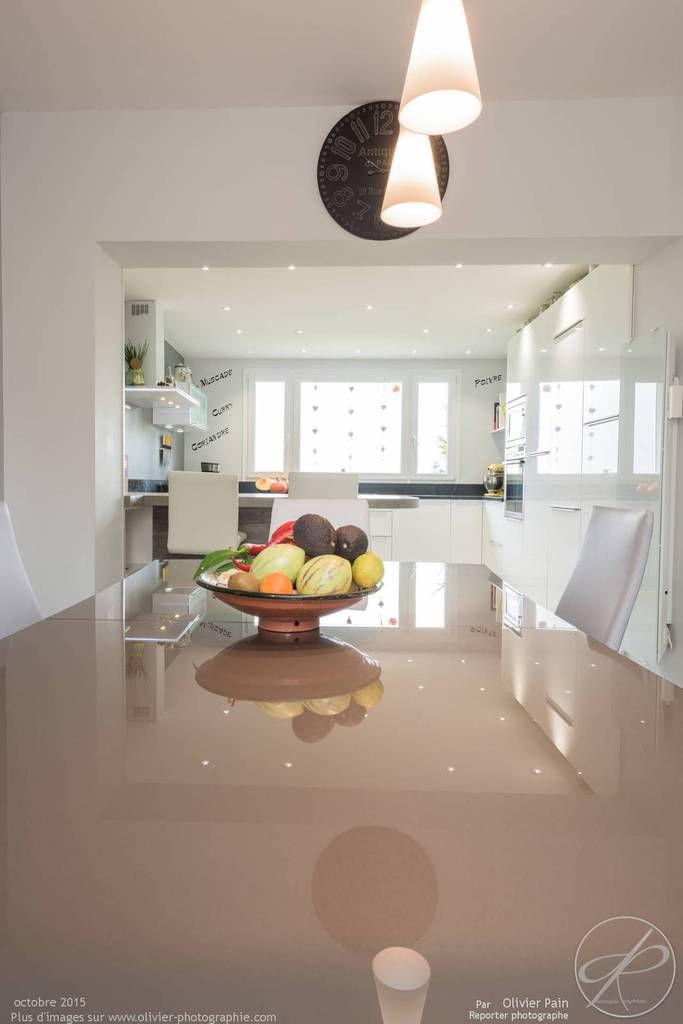 reportage d'architecture intérieure pour le cuisiniste CUISINE RAISON