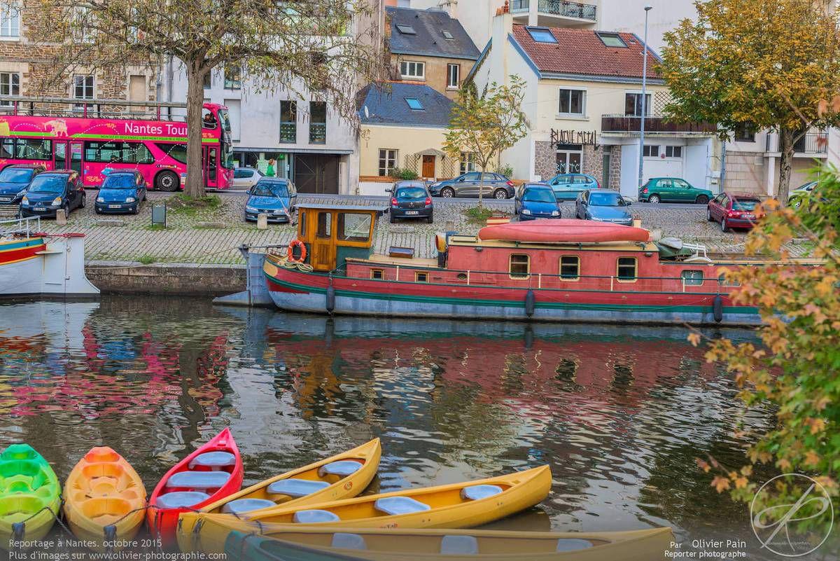 Photoreportage dans la ville de Nantes