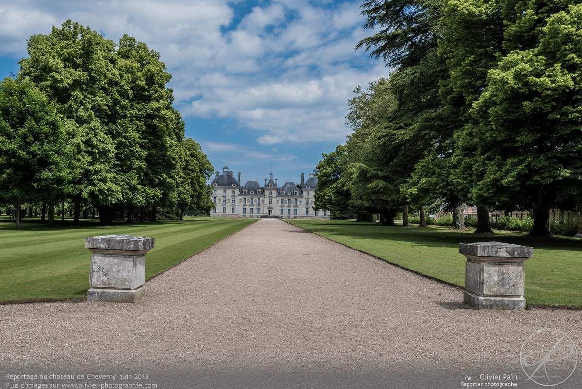 Photoreportage au château de Cheverny