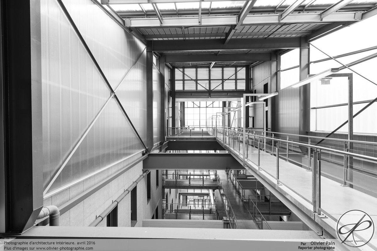 Photographies d'architecture intérieure à Tours