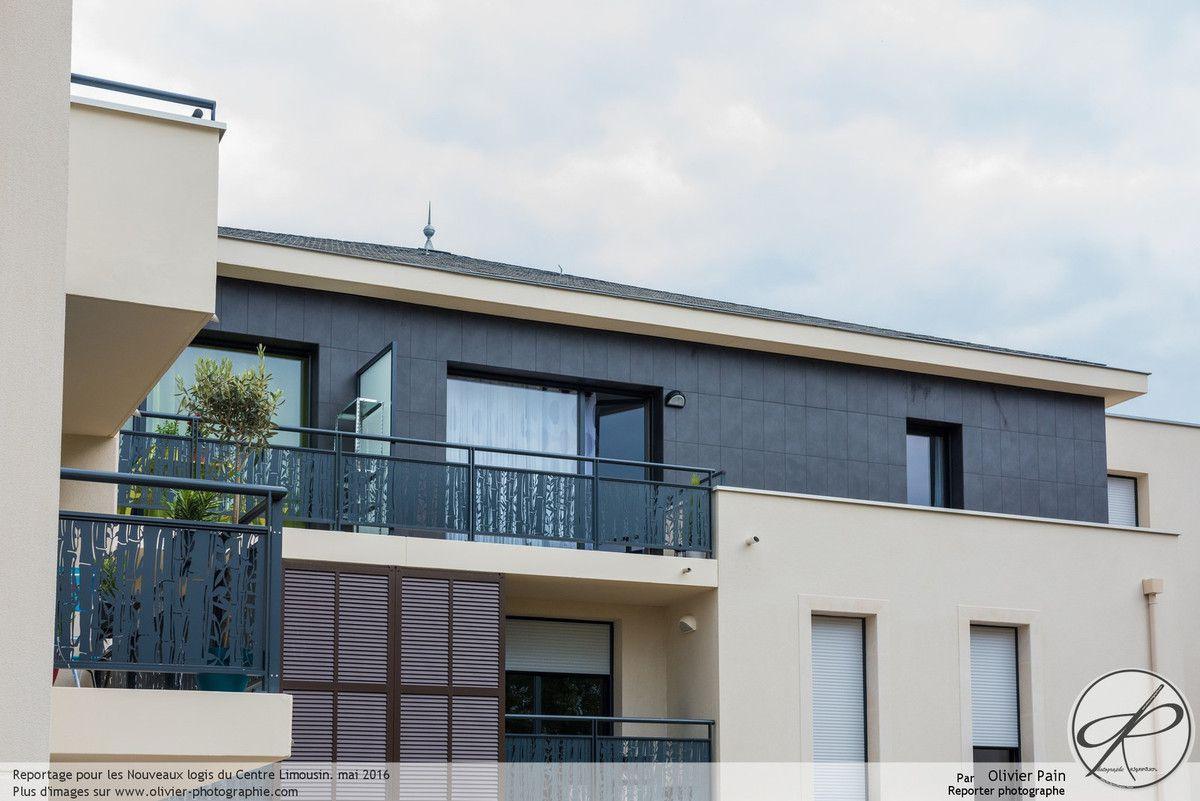 Reportage d'architecture à Tours, Saint Cyr sur Loire plus exactement pour les nouveaux logis du centre limousin.